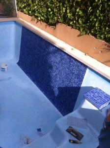 Renovación piscina fibra